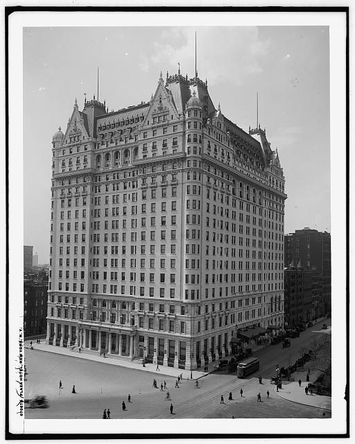 Plaza Hotel, New York, N.Y.