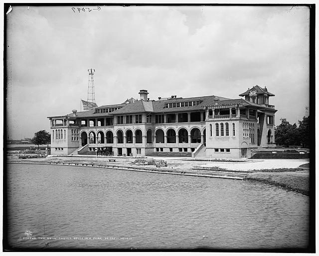 New Casino, Belle Isle Park, Detroit, Mich., The