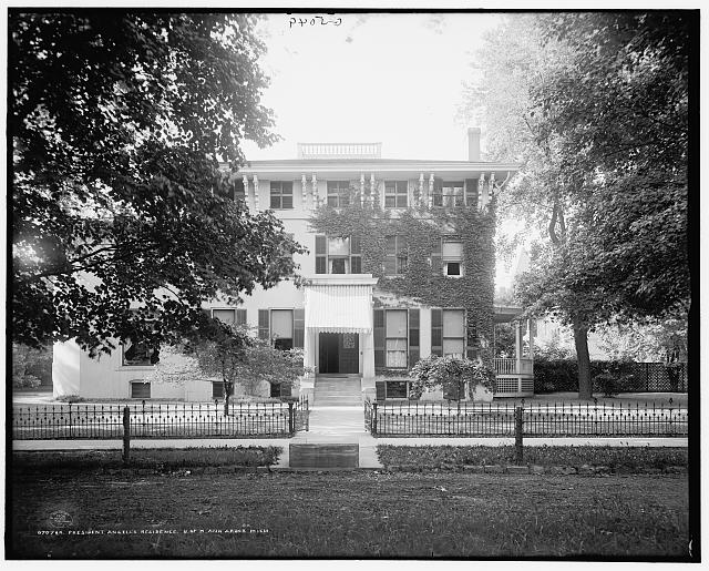 President Angell&#39;s residence, U. of M. [University of Michigan], Ann Arbor, Mich.
