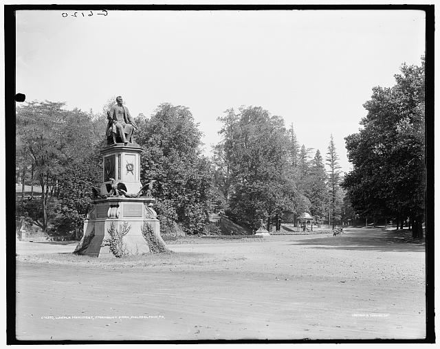 Lincoln Monument, Fairmount Park, Philadelphia, Pa.
