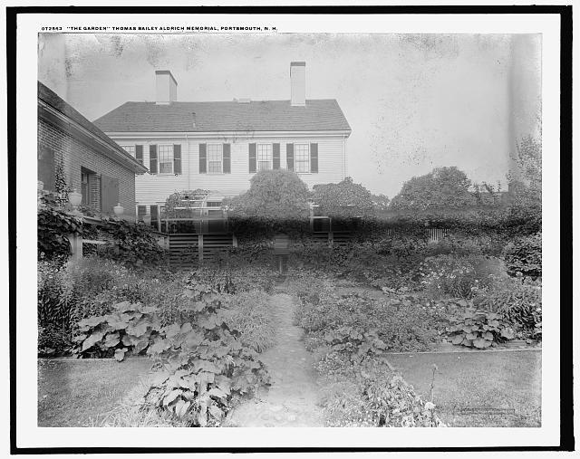 The Garden, Thomas Bailey Aldrich Memorial, Portsmouth, N.H.