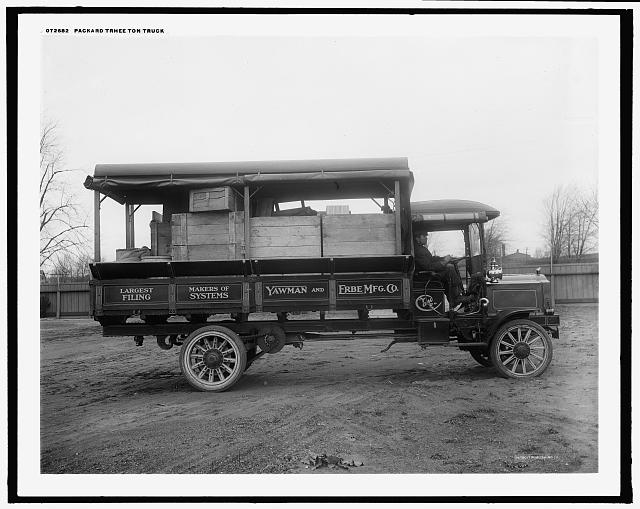 Packard three-ton truck