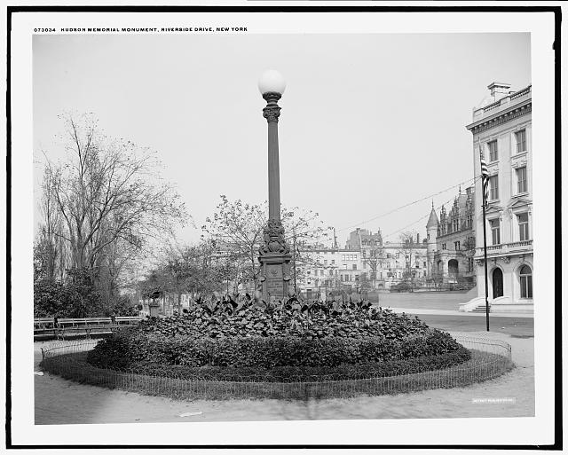 Hudson memorial monument, Riverside Drive, New York