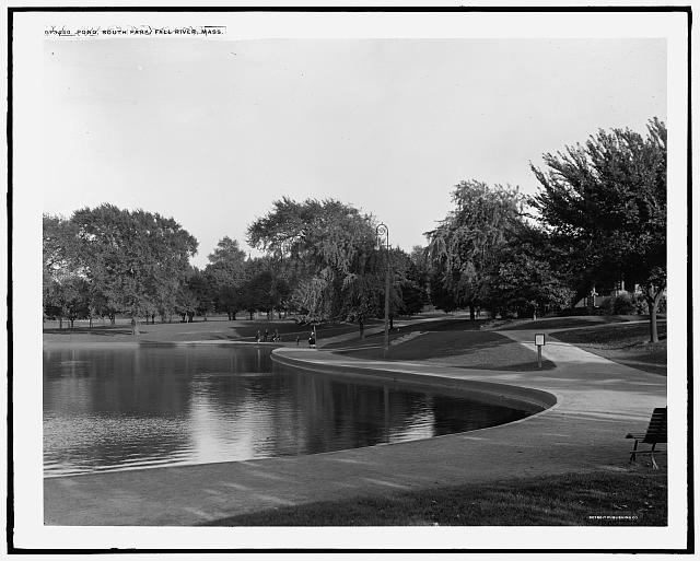 Pond, South Park, Fall River, Mass.
