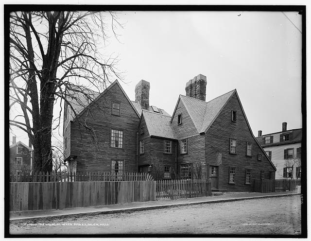 The House of Seven Gables, Salem, Mass.