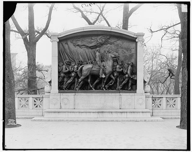 [Shaw Memorial, Boston, Mass.]