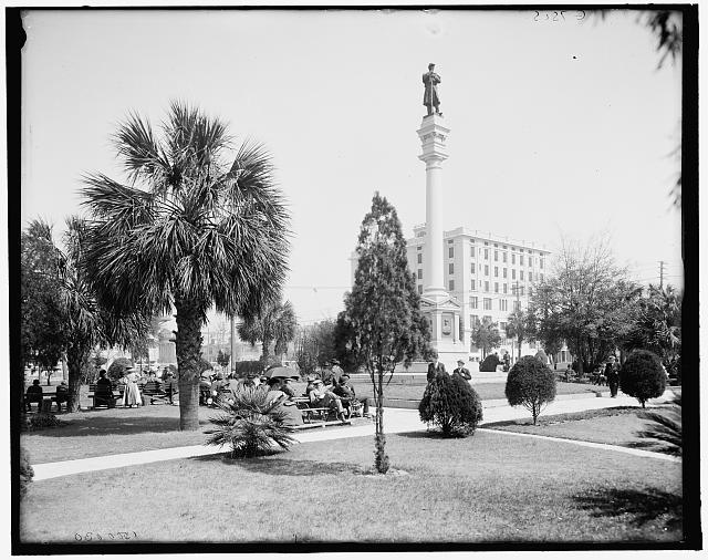 [Hemming Park and the Y.M.C.A., Jacksonville, Fla.]