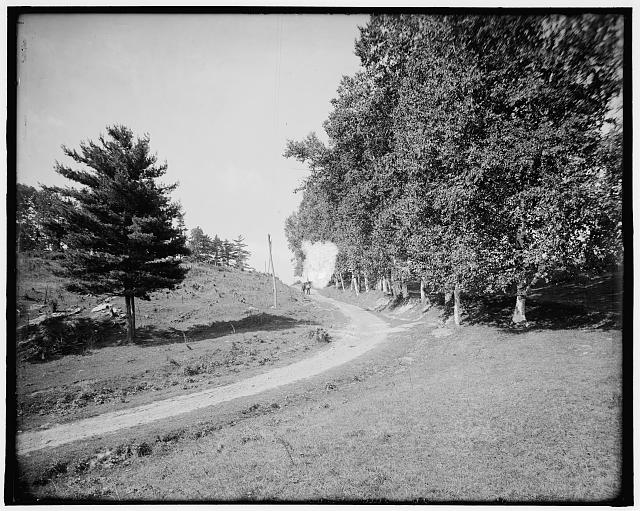 [Ethan Allen Farm, over the hill, Burlington, Vt.]