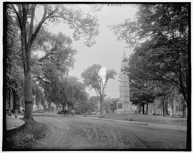 [Monument Square, Concord, Mass.]
