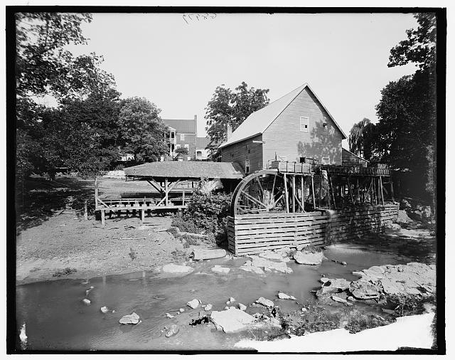 [The Old red mill, Cedar Creek, Natural Bridge, Va.]