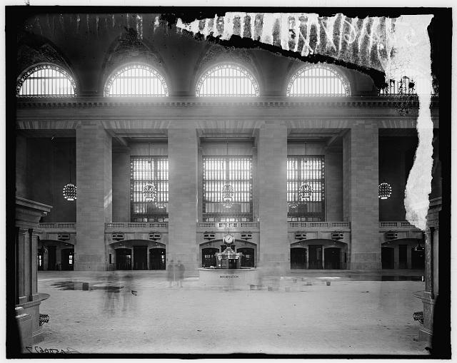 [Main concourse, looking north, Grand Central Terminal, New York, N.Y.]