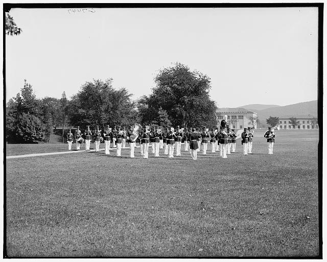[U.S. Military band, West Point, N.Y.]