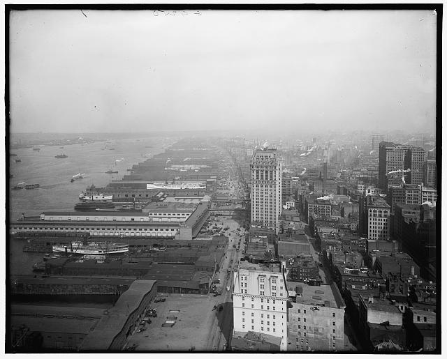 [West Street, north from the Battery, New York, N.Y.]