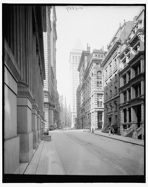 [New York, N.Y., Wall Street]