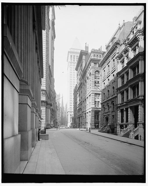 [Wall Street, New York, N.Y.]