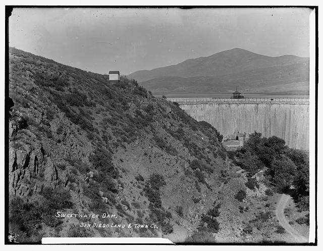 Sweetwater Dam, San Diego Land & Town Co.