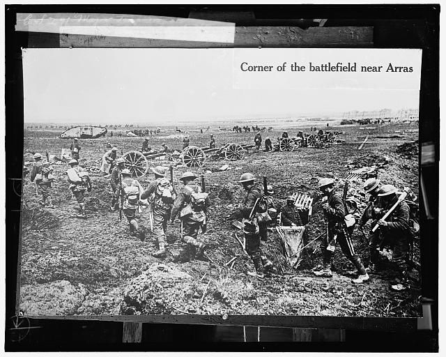 Corner of the battlefield near Arras