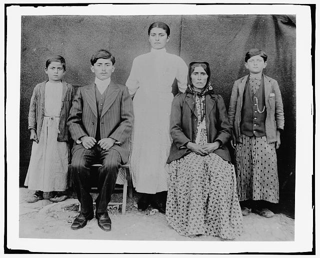 [Family portrait, possibly from Middle East]