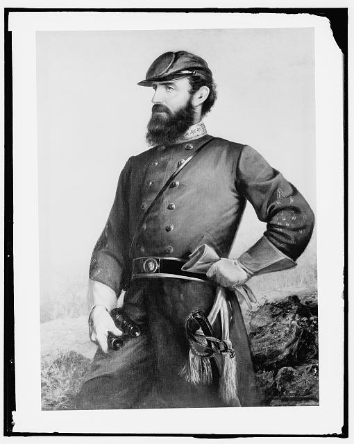 [General T.J. Jackson, three-quarter length portrait]