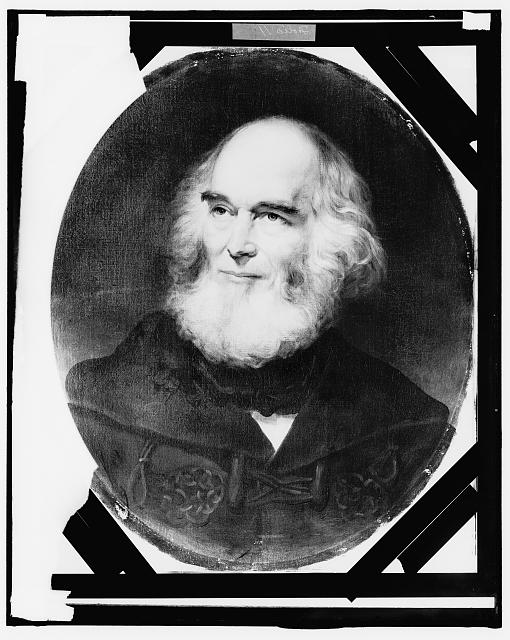 [William Cullen Bryant, head-and-shoulders portrait]