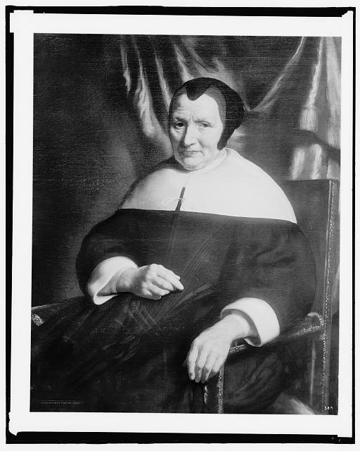 [Woman, three-quarter length portrait]