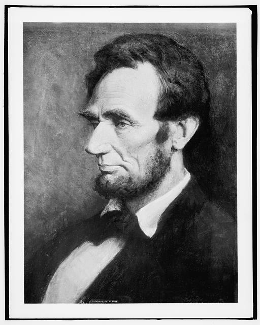 [Abraham Lincoln, head-and-shoulders portrait]