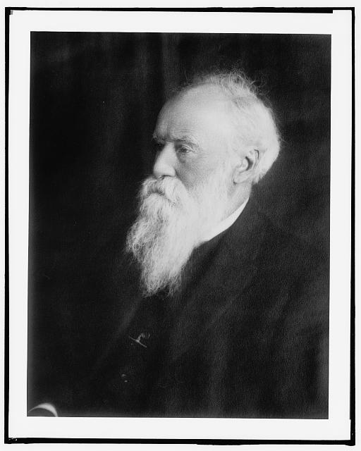 [John Burroughs, head-and-shoulders portrait]