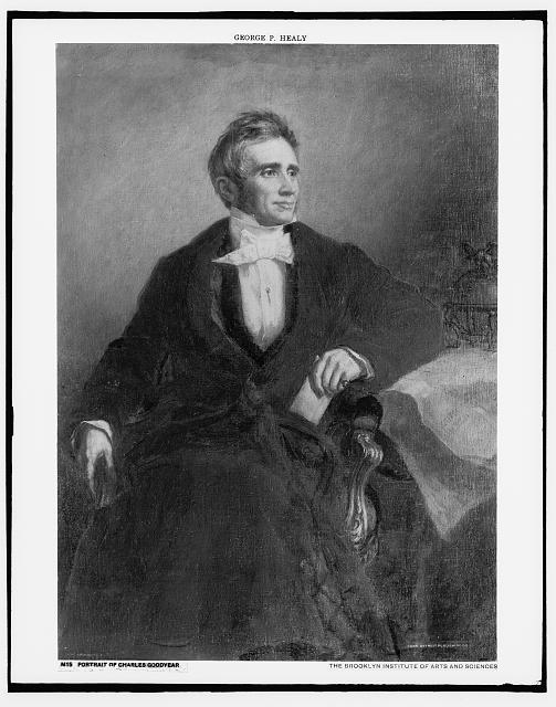 [Charles Goodyear, seated in chair, full-length portrait]