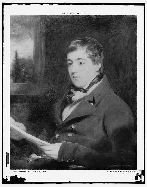 [T.P. Baillie, 1810, head-and-shoulders portrait]