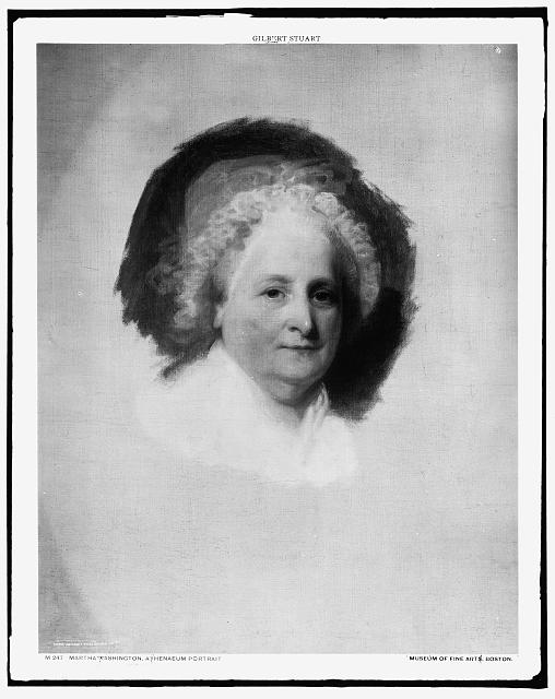 Martha Washington, Athenaeum portrait