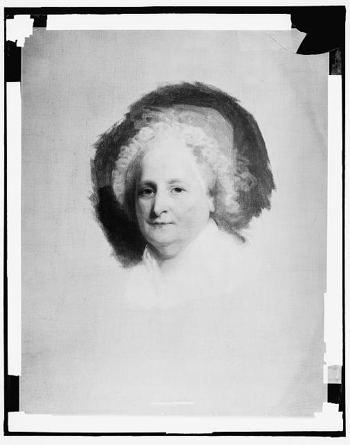 [Martha Washington, Athenaeum portrait]