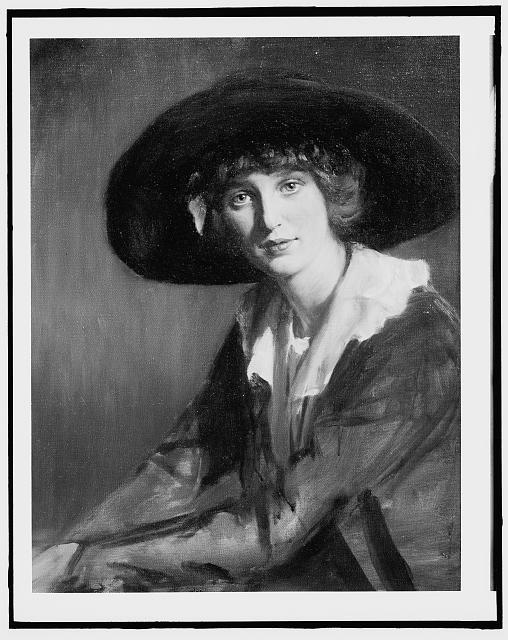[Miss Dahlman, half-length portrait]