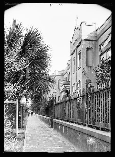 """Convent, """"Sisters of Our Lady of Mercy,"""" Savannah, Ga."""