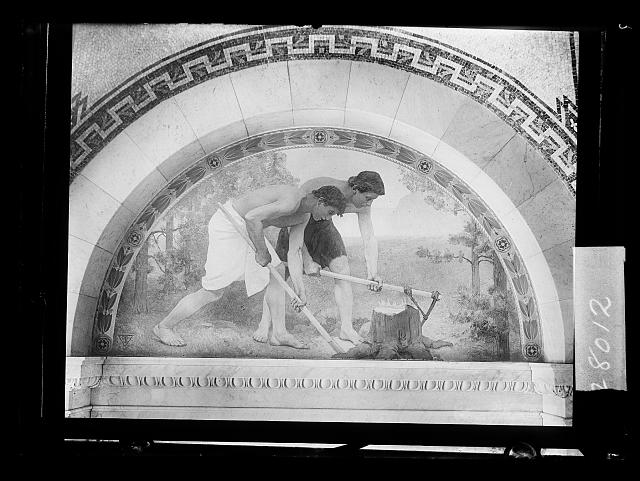[Labor, mural in Library of Congress, Washington, D.C.]