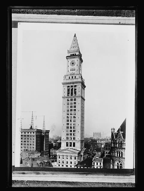 Custom House tower, Boston, Mass.