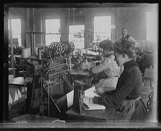 [Richmond & Backus Co. bindery, Detroit]