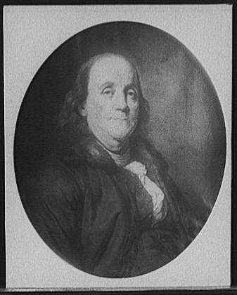 US Library of Congress - Portrait of Benjamin Franklin