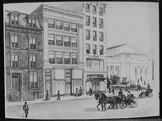 [Camerden and Forster Building, New York]