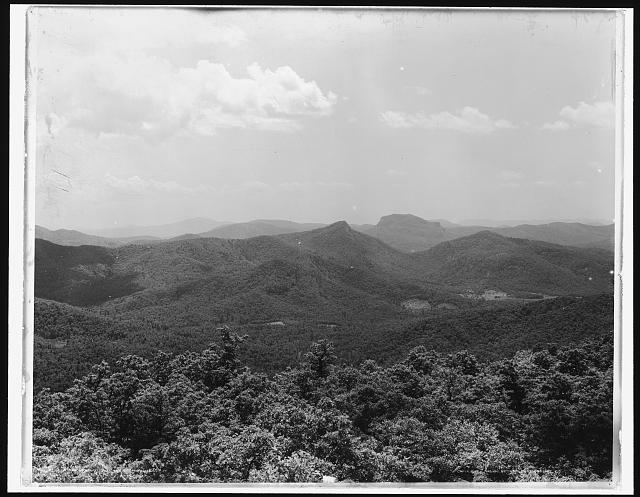 Blue Ridge from Mt. Toxaway, Sapphire, N.C., The