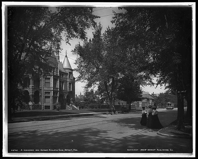 Residence and Detroit Athletic Club, Detroit, Mich., A