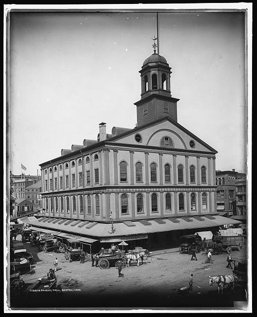 Faneuil Hall, Boston, Mass.