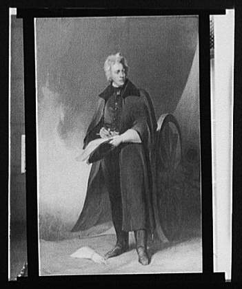 [Andrew Jackson, full-length portrait]