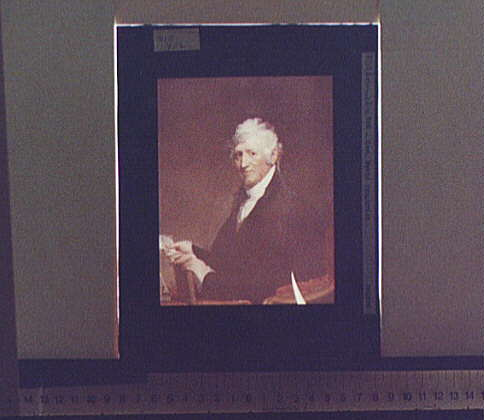 [General David Humphreys, half-length portrait]