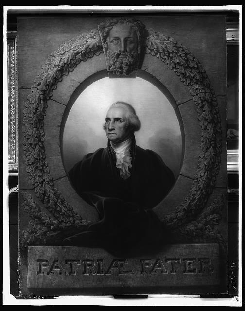 [George Washington, head and shoulders portrait]