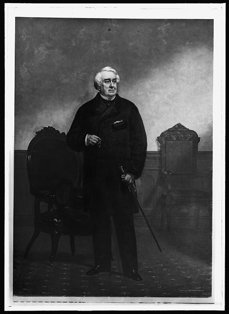 [William Corcoran, full-length portrait]