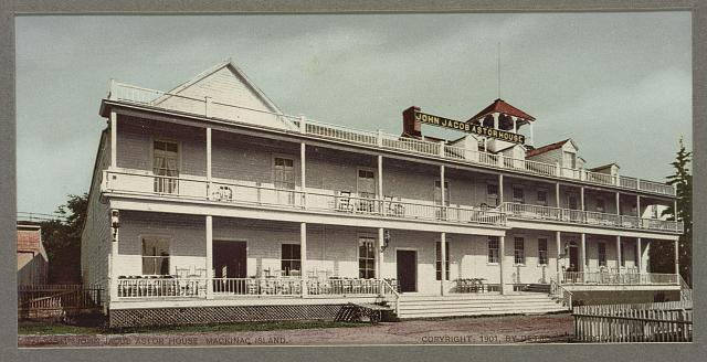 John Jacob Astor House, Mackinac Island