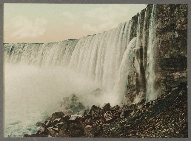 Niagara, Horseshoe Fall from Table Rock