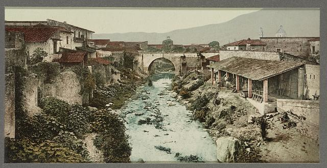 Mexico, view from bridge, Orizaba