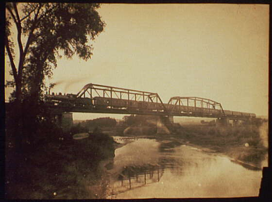 Bridge over the Des Moines River