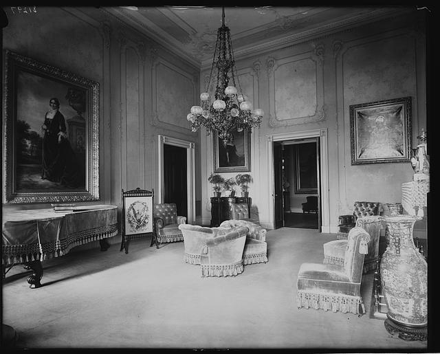 Green Room, 1893, W[hite] H[ouse]
